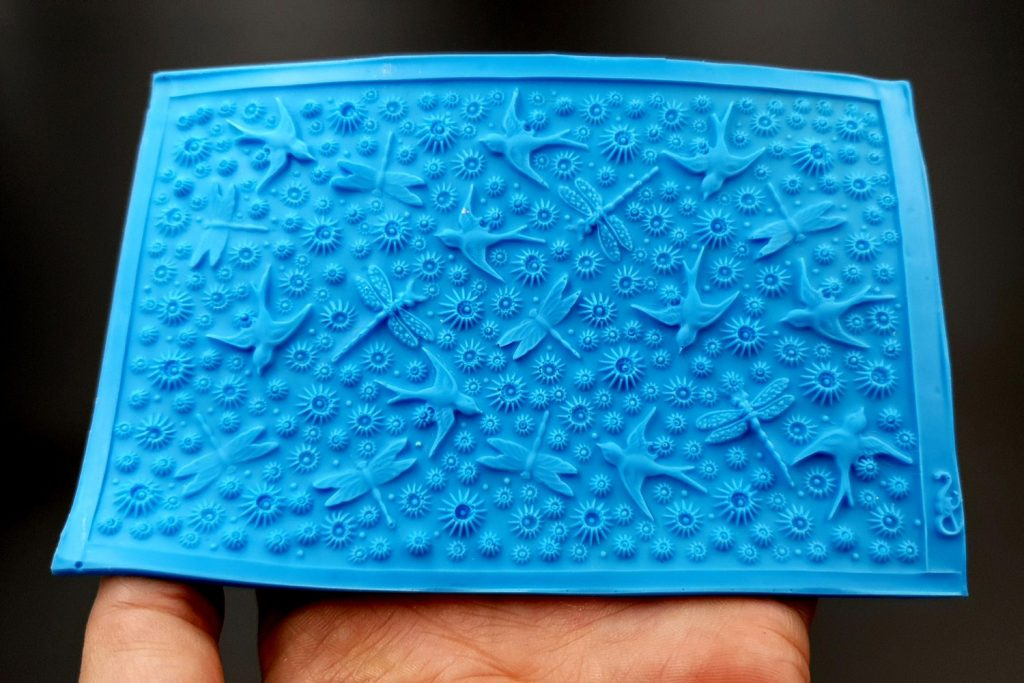 Handmade Silicone Textures for polymer clay & other art clay 1