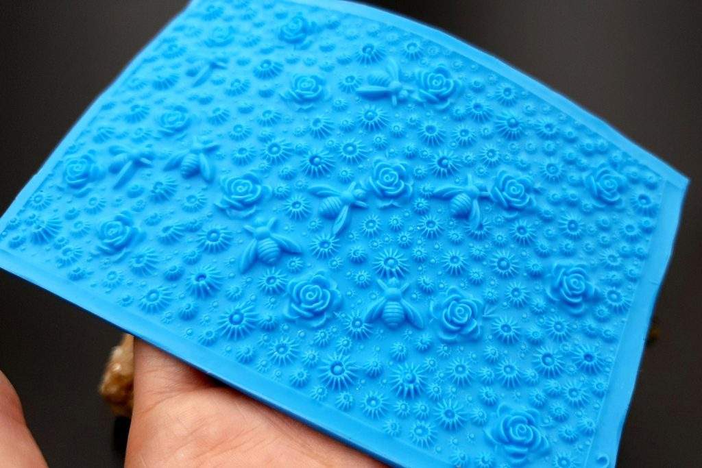 Handmade Silicone Textures for polymer clay & other art clay 11