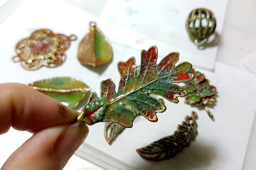 Patina Swellegant experience. On my table today 5
