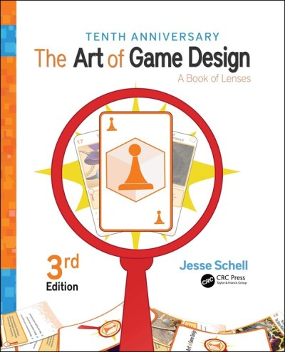 Jesse Schell's Art of Game Design book cover
