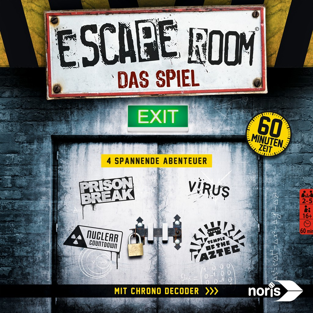 Escape Room The Game  Juego de mesa  Ludonautaes