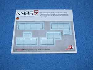 NMBR9: Startplättchen