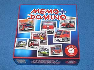 Memo + Domino Feuerwehr