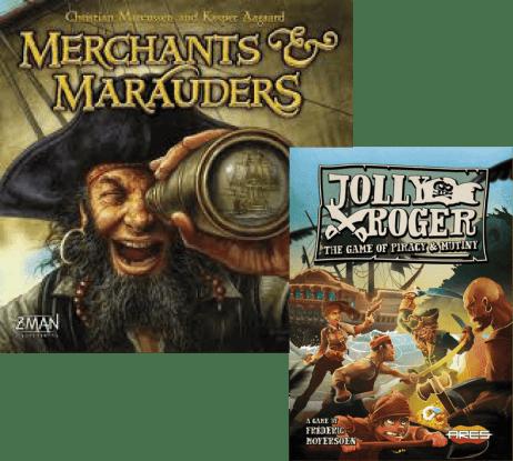 Merchands e Jolly Roger