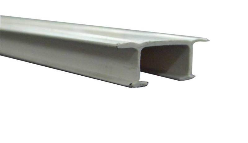 tringle a rideau double rail 2 5m 2x1 25m