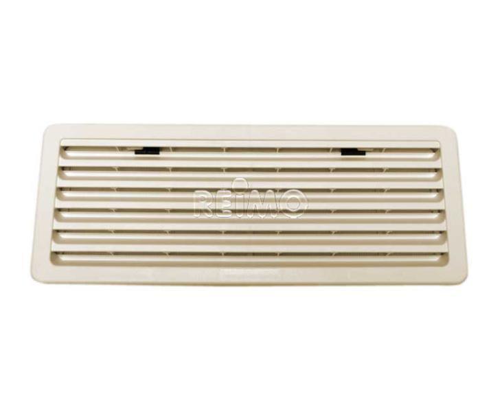 grande grille de ventilation creme thetford 488 x 248 mm