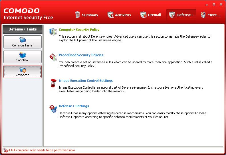 Pc Security Policy