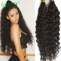 8A Deep Curly Bulk Hair For Braiding 100% Unprocessed ...