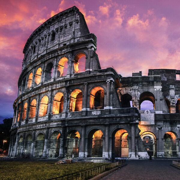 Lufo Store  Adesivo per parete Roma Colosseo