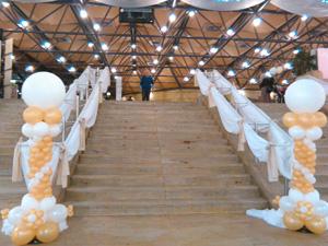 Ballondeko und Luftballons fr die Hochzeit Nrnberg