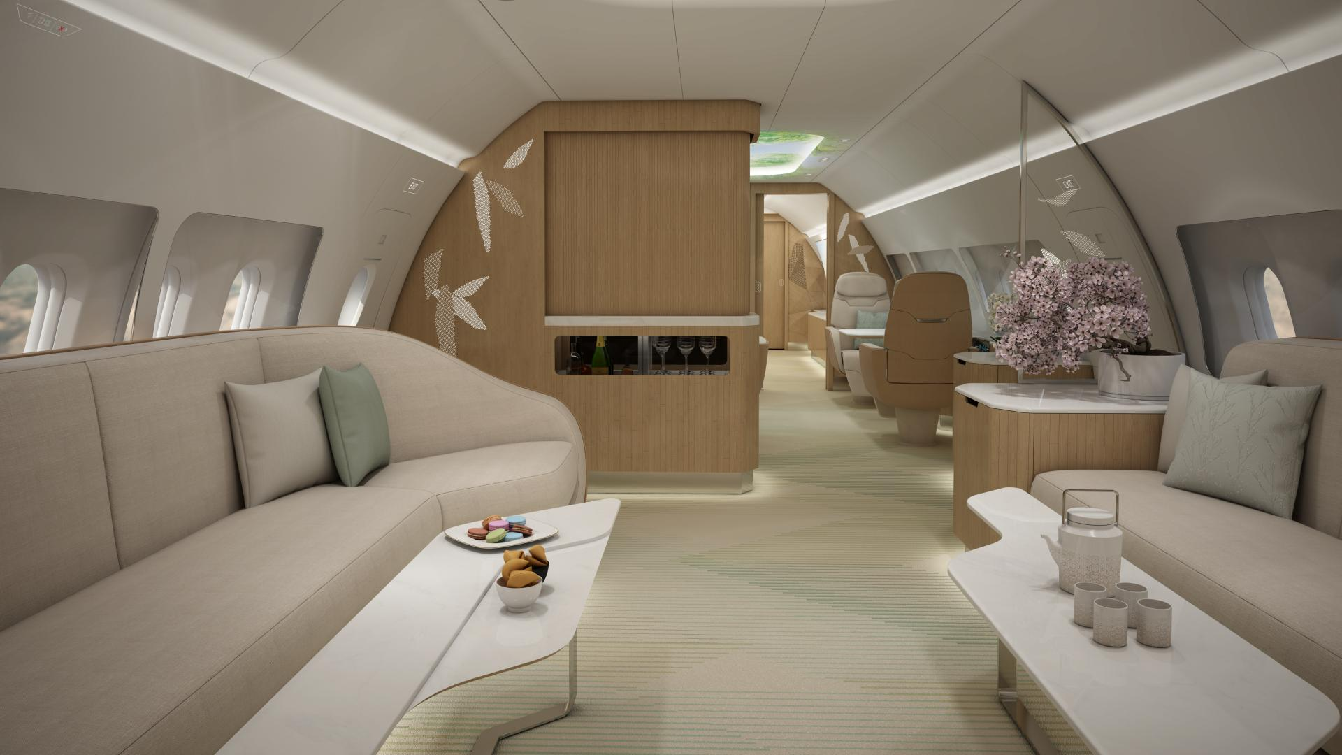 pr vip aircraft cabin design with ameco