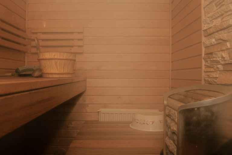 Dampfende Sauna