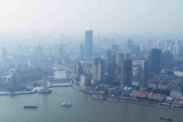 Smog Großstadt
