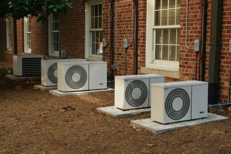 Klimaanlagen Außenansicht