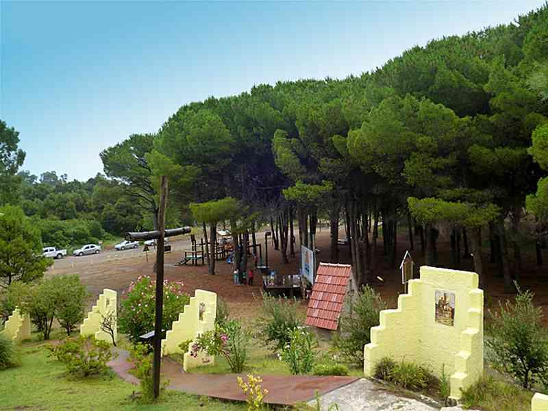 Plaza de El Calvario Monte Hermoso