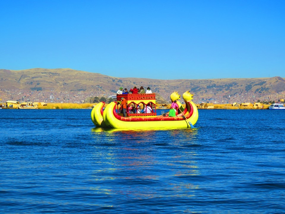 el lago titicaca