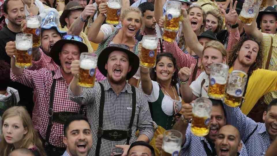 Vive el oktoberfest en alemania