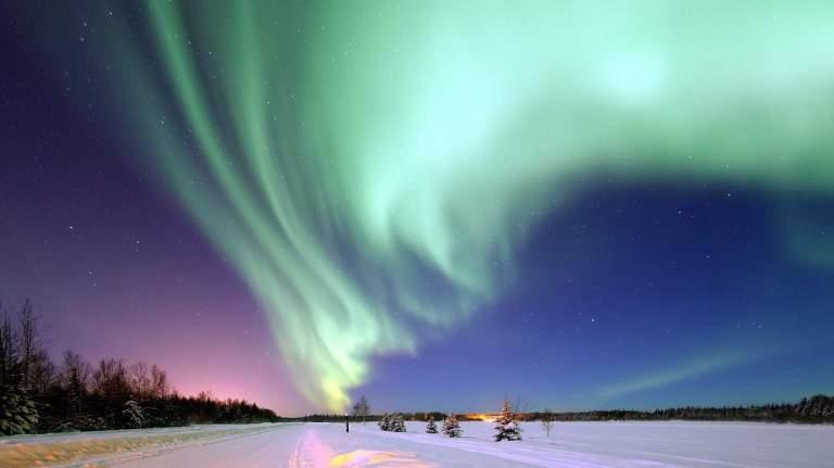 qués es la Aurora Boreal
