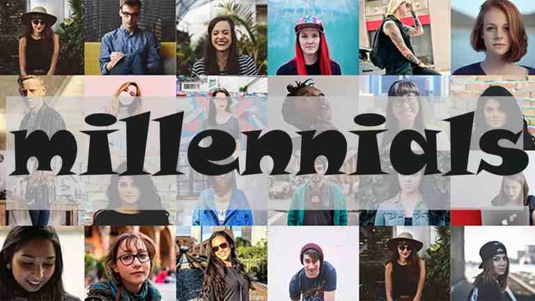 millennials viajando