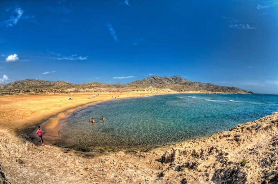 Playa de Calblanque en Murcia