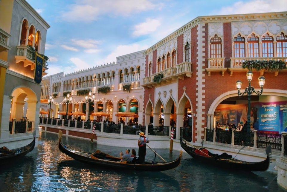 Venecia en Las Vegas