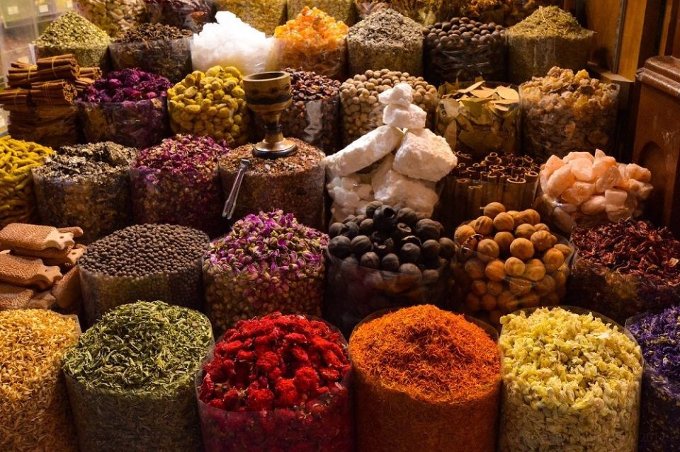 Especias marroquíes