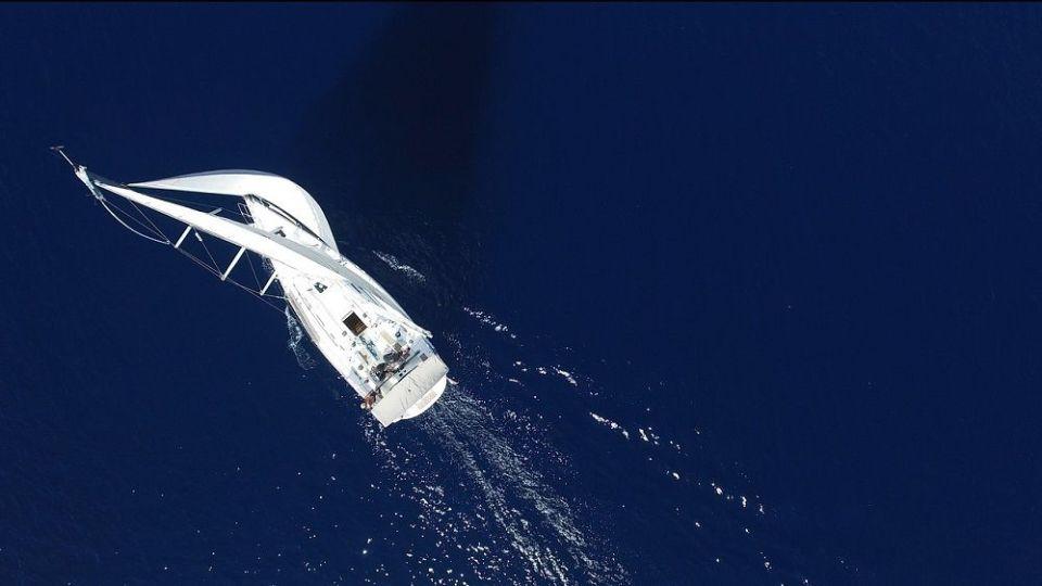 Viajar en velero
