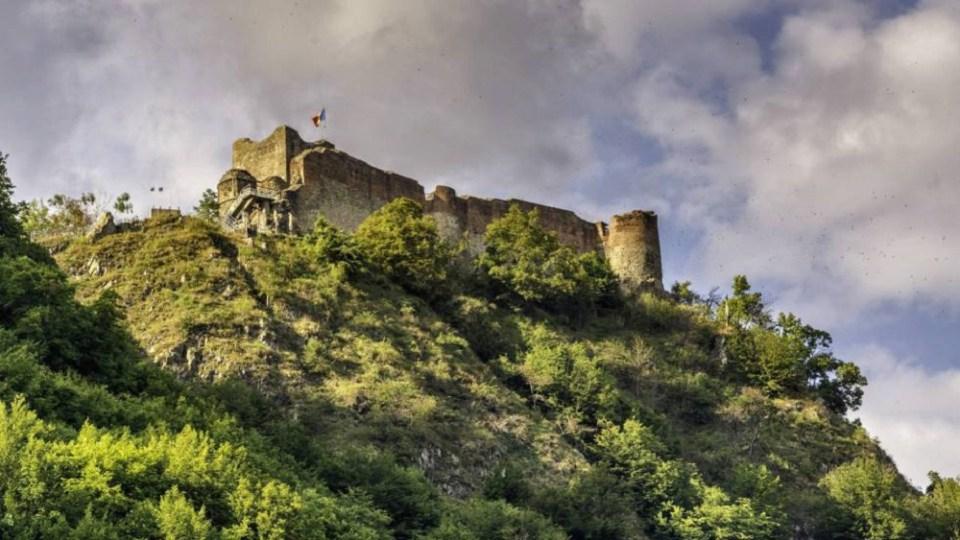 El castillo de Poienari, el auténtico castillo del conde Drácula