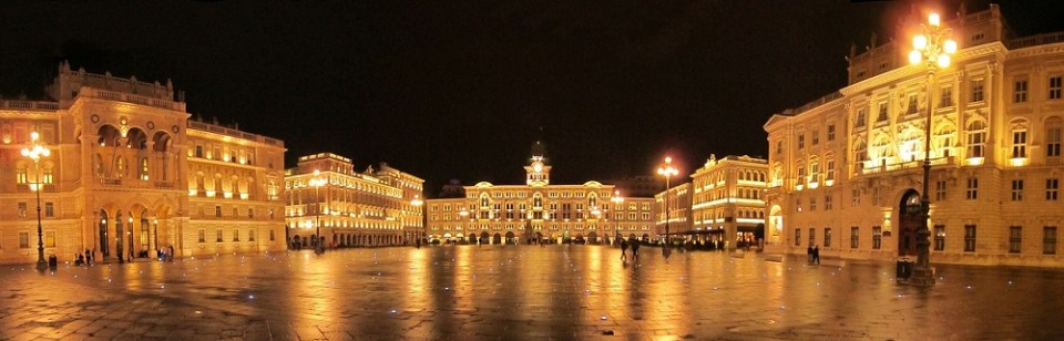 Piazza Unità d'Italia, en Trieste