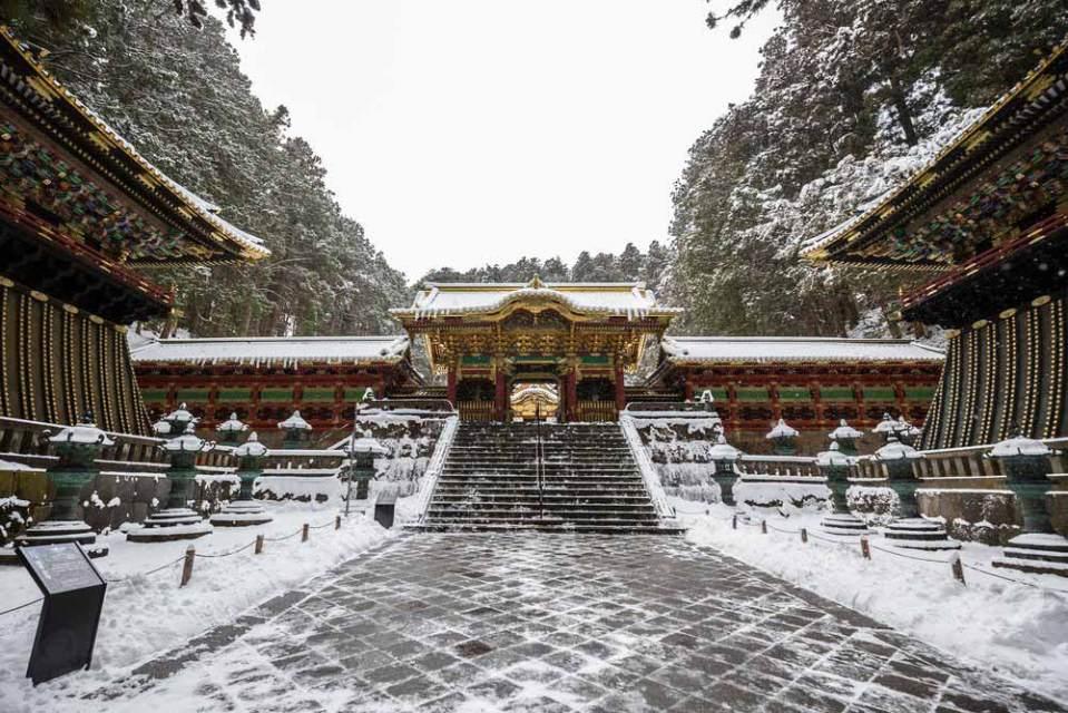 Nikko es una de las ciudades más bonitas del mundo en invierno y está en Japón