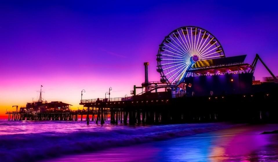 Santa Mónica es zona de ocio y playa