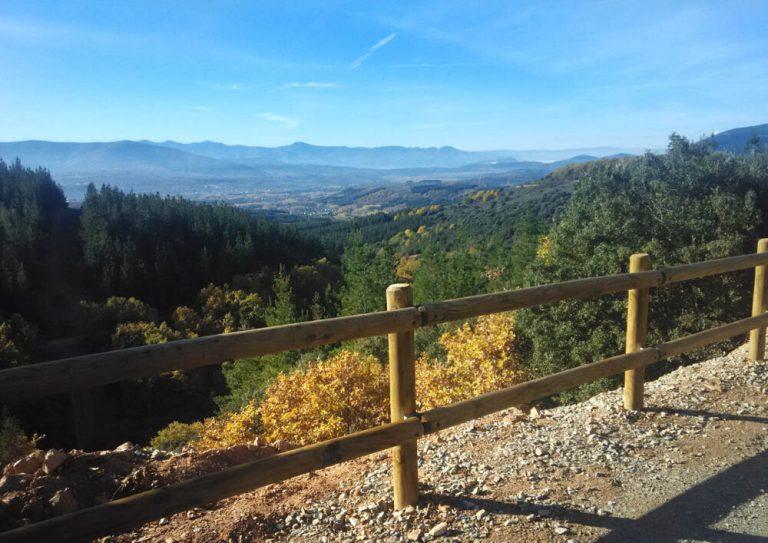 naturaleza en el camino natural de la ruta de la conquista en el Bierzo