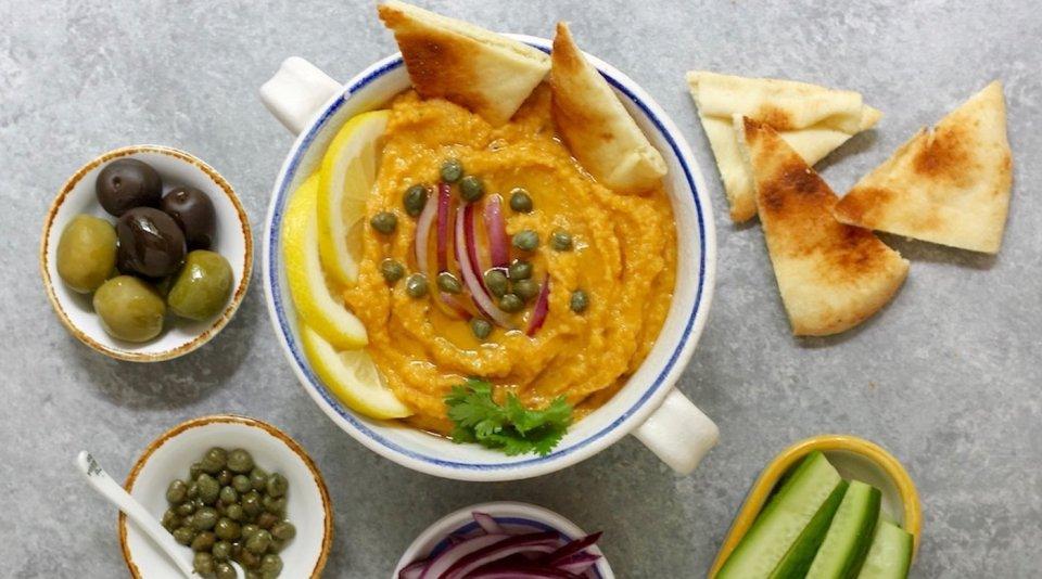 Flava, uno de los platos típicos de Grecia originario de Santorini