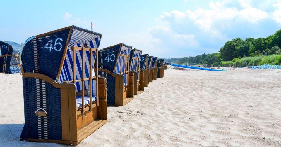 ustka- playa - pueblos costeros más bonitos de Polonia