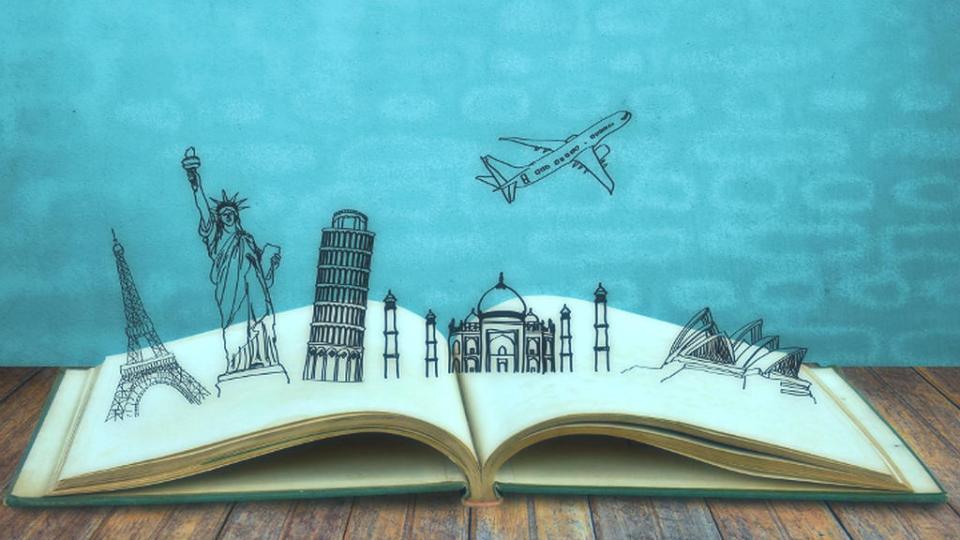 viajar desde casa con libros es utilizar bien nuestro tiempo