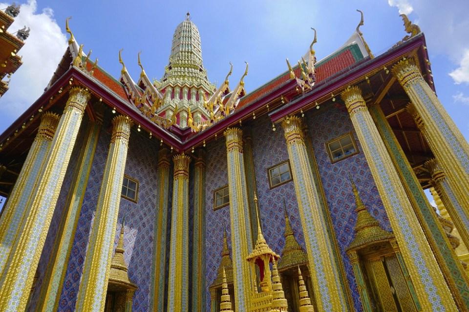 Gran Palacio de Bangkok y el templo Wat Phra Kaew