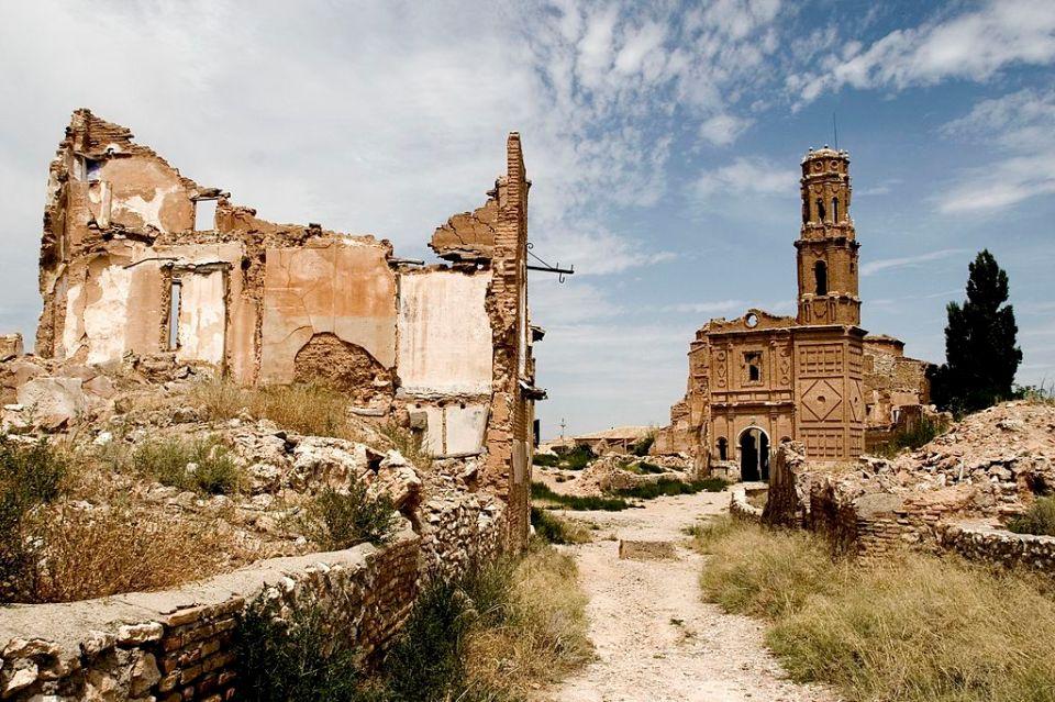 Belchite - monumentos misteriosos de España