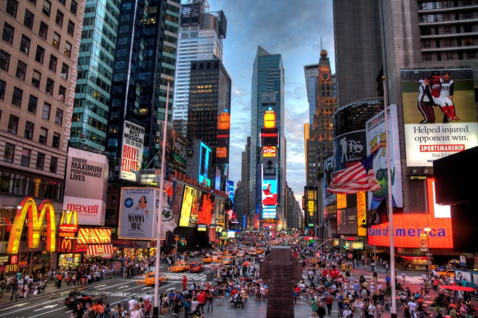 Times Square Manhattan