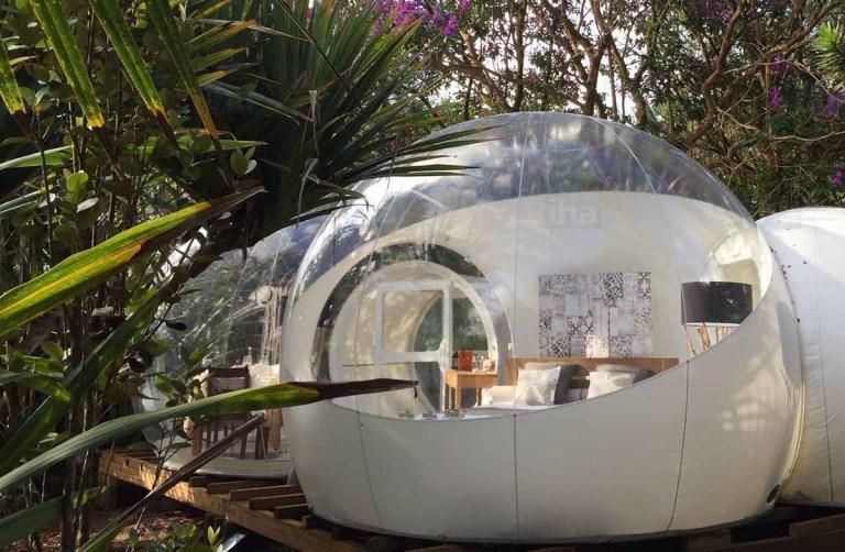 Los mejores hoteles burbuja del mundo