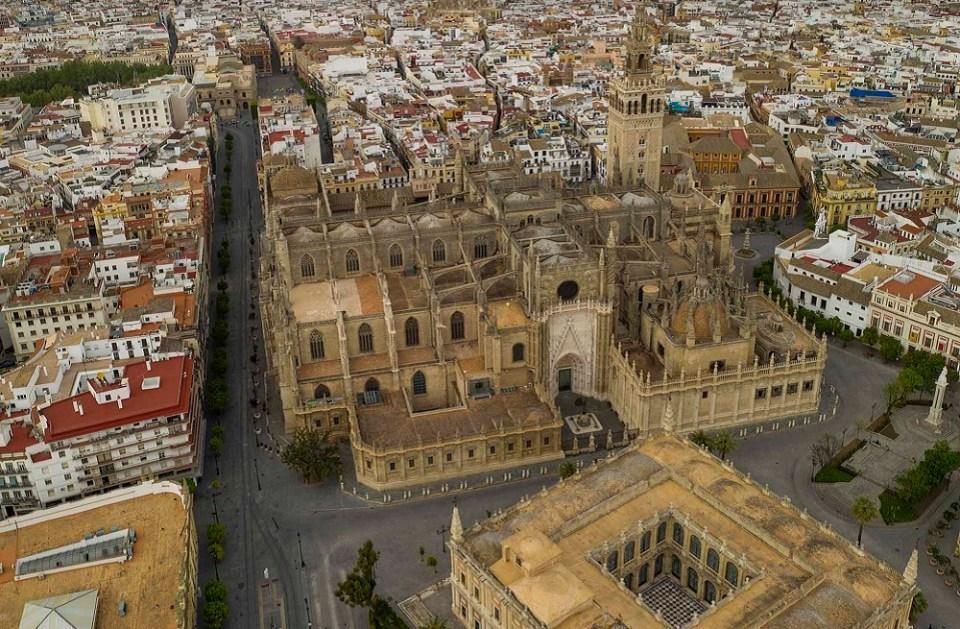 Principales ciudades de España en confinamiento como Sevilla