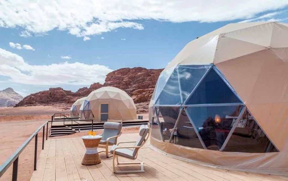 En qué hotel burbuja alojarse