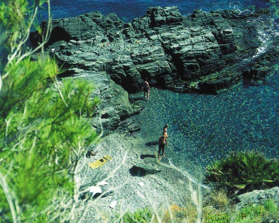Cala Pargo, playas y calas de España