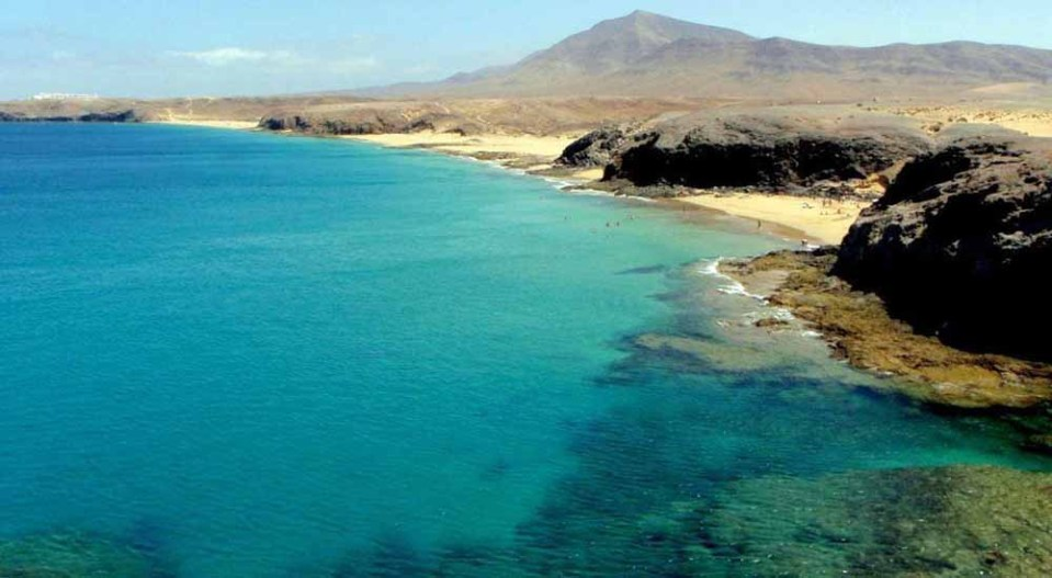El Papagayo, una de las mejores playas de Canarias