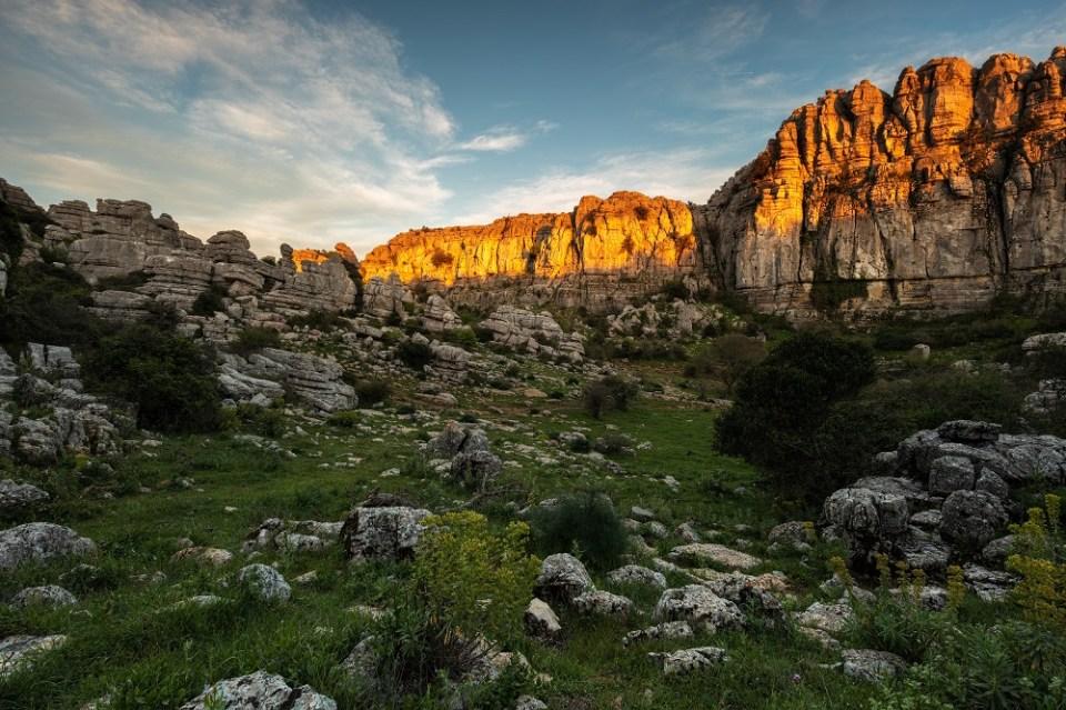 el torcal, una de las más famosas Rutas de senderismo por Andalucía