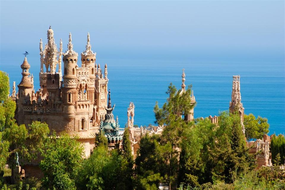 Colomares, castillos en Málaga