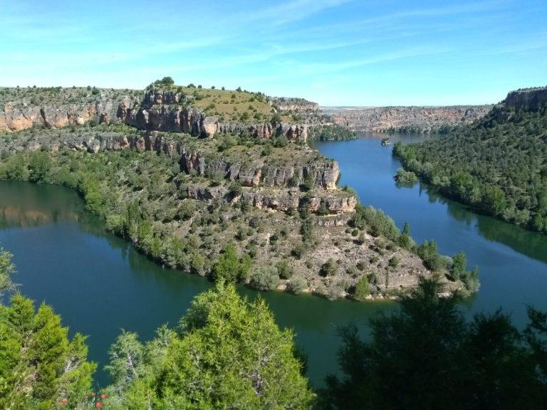 Hoces del Río Duratón se encuentra en Segovia