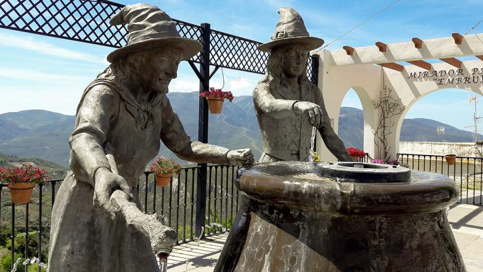 Localidades españolas en las que vivieron brujas