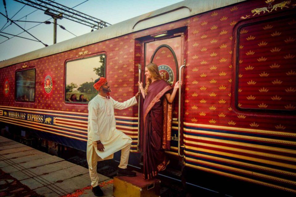 viajes en tren de lujo: maharaja express