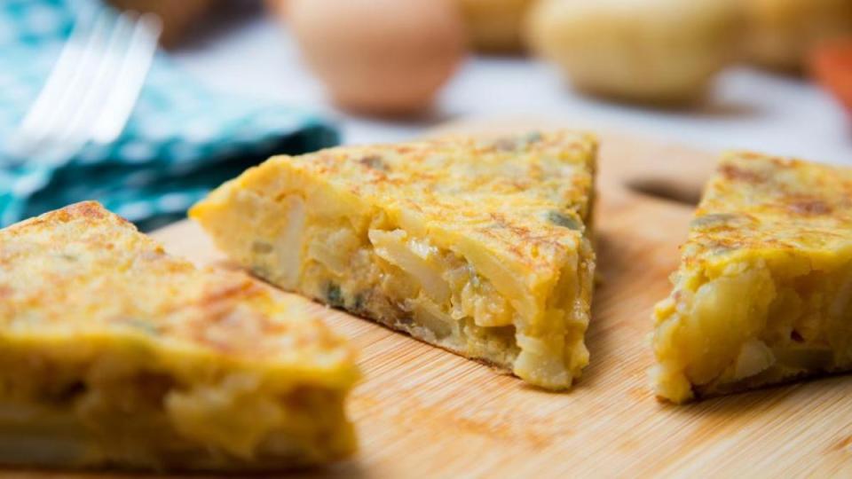 tortilla clásica