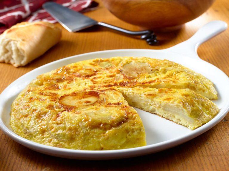 mejores recetas de tortilla de patata de España